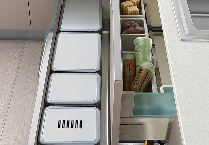 Vibo Undersink Magnetic Waste Bin